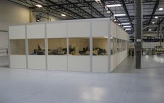 warehouse with office - Google Search Furniture, Home Decor, Glass Partition, Office, Room Divider, Glass, Refurbishing, Warehouse