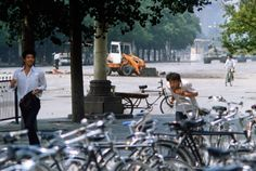 {Nostalgia} This is a completely different view of the Tank Man of Tiananmen Square. #nostalgia #history #TiananmenSqure