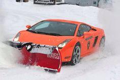 Lamborghini Gallardo Plow