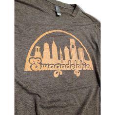 Swagadelphia Screenprinted Philadelphia Shirt by scstees on Etsy ($12) via Polyvore