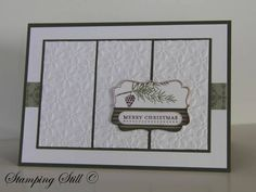Tags Til Christmas Merry Pine by mum of 2+2 - Cards and Paper Crafts at Splitcoaststampers