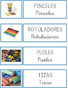 La granja de Daniela: ORDENAR EL AULA Colegio Ideas, Dora, Printable Labels, Classroom Management, Ideas Para, Montessori, Preschool, Teaching, Education