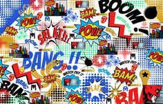 we can all be heroes fabric by rockitbaby on Spoonflower - custom fabric