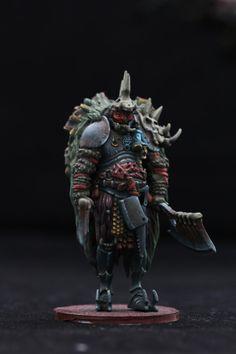Horrors, Kingdom Death, Miniatures, Terror, Warhammer Fantasy - Kingdom Death: Butcher - Gallery - DakkaDakka | I find your lack of paint disturbing.
