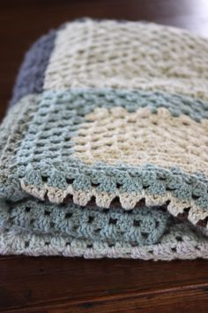 Nan's crocheted Blanket
