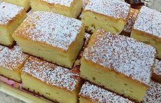 Reteta culinara Desert prajitura cu branza din categoria Prajituri. Cum sa faci Desert prajitura cu branza No Cook Desserts, Ricotta, Cornbread, Cooking, Ethnic Recipes, Cakes, Food, Millet Bread, Kitchen