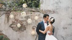 Downtown perfection. Kathryn & Chris — Weddings in New Orleans — Borrowed & Blue