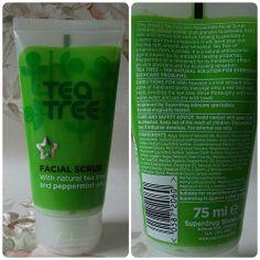 Review: Superdrug Tea Tree & Peppermint Facial Scrub