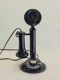 Western Electric 1920's Candlestick phone.