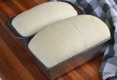 Bread Bun, Easy Bread, Bread Rolls, Pita Bread, Sandwich Bread Recipes, Bread Machine Recipes, 2 Loaf Bread Recipe, White Bread Recipes, Yeast Bread Recipes