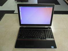 Dell latitude E6520 Computer Laptop 6Gb Intel Core i5 2.30Ghz 320Gb Ubuntu