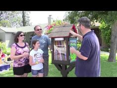 Places LA: Free Little Library Opens in North Sherman Oaks   My Word with Douglas E. Welch