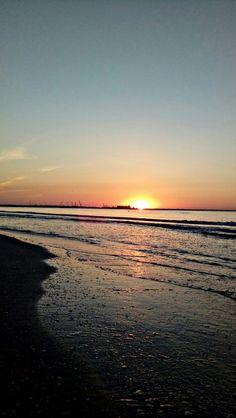 Beautiful Romania. Sunrise. Seaside.