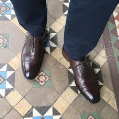 Lonsdale in Dark Brown Antique Calf - photo credit @instanoodle_soup