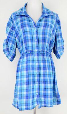 Lane Bryant Plaid Flannel Top Size 18/20