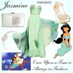 Disney Style: Jasmine, created by trulygirlygirl on Polyvore