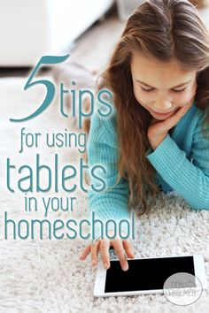Have you found that your iPad or tablet just isn't working the way you hoped it would in your homeschool? You're not alone. It can be a challenge to overcome some of the distractions. But don't worry, these 5 tips for using tablets in your homeschool will help!