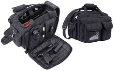 - Offers Great Storage For All Your Essential Gear & Firearms - Padded, Adjustable & Removable Shoulder Strap - Top Carry Handle - Hard Bottom For Extra Protection - Top-Open Bag With Double Zipper U- Police Duty Gear, Concealed Carry Clothing, Army Gears, Range Bag, Tac Gear, Gun Cases, Shooting Range, Go Bags, Backpacking Gear
