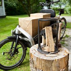 Summer #KindlingCracker King delivery #bullitt style... Cargo Bike, Facon, Copenhagen, Larry, Firewood, Delivery, Texture, Summer, Crafts