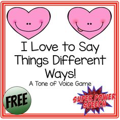 Super Power Speech: Valentine's Freebie for Blog Subscribers! Pinned by SOS Inc. Resources. Follow all our boards at pinterest.com/sostherapy/ for therapy resources.