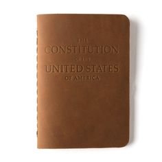 Constitution of the United States of America | Saddleback Leather Co.