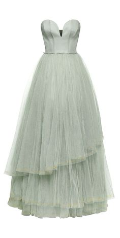 Mint Tulle Gown / H Conscious Collection