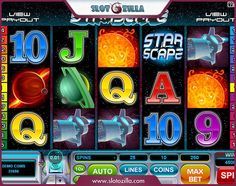 Enjoy amazing cosmic landscapes without leaving your apartment!   Powered by Microgaming, Starscape slot will make you feel as an astronaut conquering new galaxies. Give the Starscape a spin! FYI, the jackpot is $70,000! Sounds interesting, doesn't it? http://www.slotozilla.com/free-slots/starscape