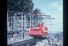 The Mad Mouse ride at Chain of Rocks park St.Louis, MO  Alas, that park has been gone for more than 30 years!