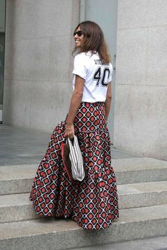 Come indossare la gonna lunga? Tips&tricks anche per le più minute! #concosalometto #longskirt #gonnalunga #styletips