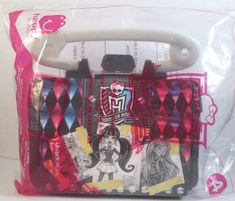 #MonsterHigh #Handbags #Toy #McDonalds Happy Meal 4 2015 #Disney Sealed #forsale #bonanza #bonanzabooth #bonanzaseller