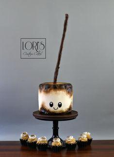 amazing cakes Toasty by Lori Mahoney (Lori's Custom Cakes) Pretty Cakes, Cute Cakes, Beautiful Cakes, Amazing Cakes, Crazy Cakes, Fancy Cakes, Pasteles Halloween, Piece Of Cakes, Cake Creations