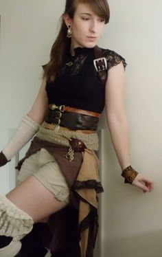 Steampunk Outfit 1 by LadyDulac on deviantART submission from steampunkxlove Steampunk beauty of the day!