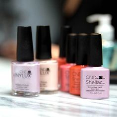 The CND summer Flirtation nail polish shades are a collection worth coveting.