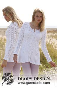 Rosalinde summer cardigan. Free pattern