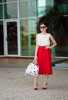 Blog da Lê-Moda e Estílo: Look - Pantacourt