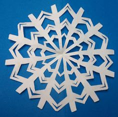 diy snow flakes