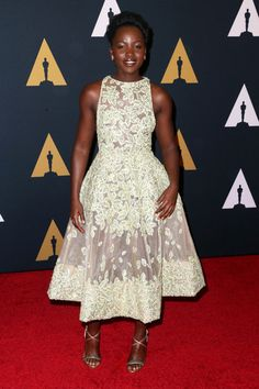 Lupita Nyong'o in Elie Saab Couture - Every Stunning Look from the 2016 Governors Awards - Photos