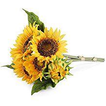 Louis Garden Artificial Flowers Sunflower (sunflower, 1 bouquet)