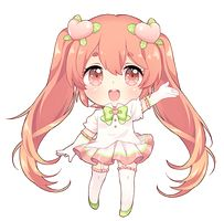 chibi commission for ! her oc is so cute, i'm glad i got the chance to draw her. c:yuzuki airi Chibi Kawaii, Cute Anime Chibi, Kawaii Art, Kawaii Anime Girl, Manga Girl, Manga Anime, Anime Art, Chibi Characters, Cute Characters