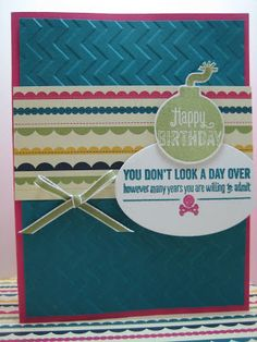 Bombs Away photopolymer stamp set from Stampin' Up!