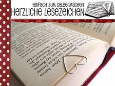 Alessas Blog: [diy] herzliche Lesezeichen einfach selber machen!