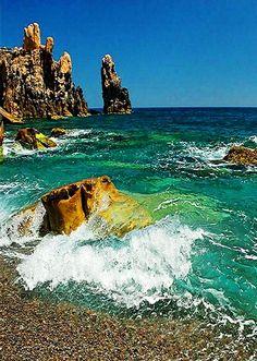 amazing beach....bejaia...algeria