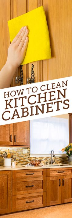 Here's a cleaning tip for something that you likely often forget to clean... kitchen cabinets. Think about it... you cook almost everyday in your kitchen and the cabinet doors get greasy and grimy after a while. No longer! Clean those kitchen cabinets with Simple Green. Learn how here...