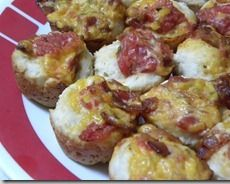 Bacon & Cheese Bites Recipe! Great for football!