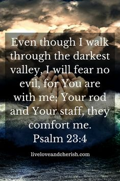 Don't be afraid! God is with you! That valley won't last forever! #christianity #christian #bible #quotes #quotestoliveby #quotesaboutlife #quoteoftheday #quotestagram #quote #quotesdaily #inspirationalquotes #inspiration #inspire #inspirational #inspired #wisdom #bibleverse #scripture #motivationalquotes #motivation #motivational #motivationalquote