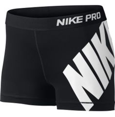 Nike Women's 3'' Pro Logo Compression Shorts | DICK'S Sporting Goods