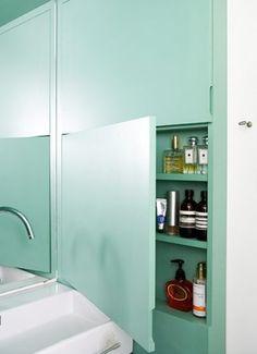 800 aluminium cabinet (electric) in mirrored cabinets | bauhaus