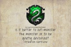 Proud Slytherin