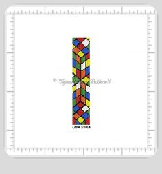 THIS PDF Bead Pattern INCLUDES THE FOLLOWING:    LOOM STITCH BEAD CUFF PATTERN 1. A bead legend (bead numbers and colors needed) 2. The pattern design 3. A large, detailed, numbered graph of the patte