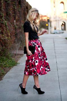 Custom fitted skirt tutorial
